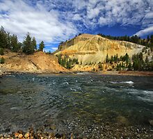 Yellowstone River 2 by Charles Kosina