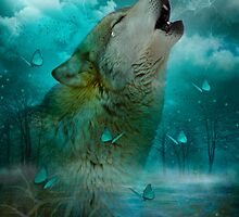 I'll See You In My Dreams (Wolf Howl) by soaringanchor