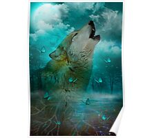 I'll See You In My Dreams (Wolf Howl) Poster