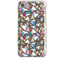 abstract pattern with origami  iPhone Case/Skin