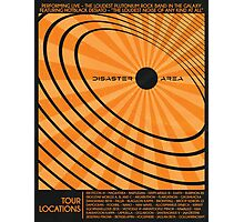 Disaster Area Band Poster Photographic Print