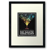 Pan-Galactic Gargle Blaster Poster Framed Print