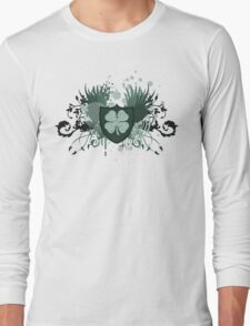 hi-fi shamrock Long Sleeve T-Shirt