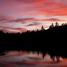 Goldwater Lake Sunset by K D Graves Photography
