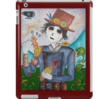 Surrealism - Undead Steampunk boy iPad Case/Skin