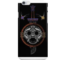 Mirror Shield and Razor Sword iPhone Case/Skin