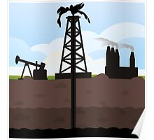 Oil recovery Poster