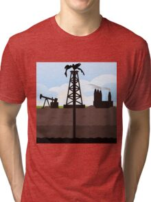 Oil recovery Tri-blend T-Shirt
