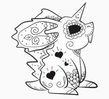 Nidoran male de los Muertos | Pokemon & Day of The Dead Mashup T-Shirt