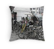 Anyone for a tuk tuk? Throw Pillow
