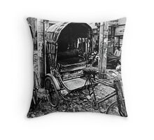 Rickshaw for sure. Throw Pillow
