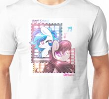 Vinyl and Octavia Collage  Unisex T-Shirt