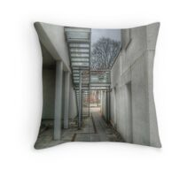 Architecture HDR Throw Pillow