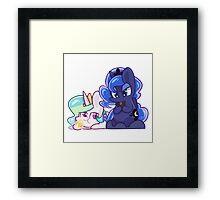 Pony Sisters Framed Print