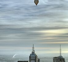 City balloons, Melbourne by Lucas D'Arcy
