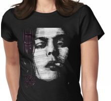Him Valo Razorblade Tee OPTIMIZED FOR BLACK SHIRTS Womens Fitted T-Shirt
