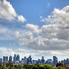 Melbourne from westgarth by Lucas D'Arcy