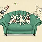 armchair tennis  by vian