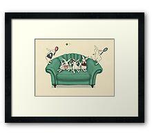 armchair tennis  Framed Print