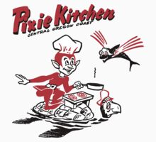 Pixie Chef and Flying Fish Baby Tee