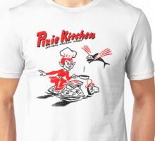 Pixie Chef and Flying Fish Unisex T-Shirt