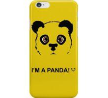 Panda style iPhone Case/Skin