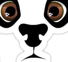 Panda style Sticker