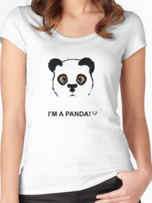 Panda style Women's Fitted Scoop T-Shirt