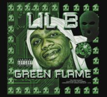 green flame by f3ces