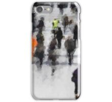 Commuter Art Abstract iPhone Case/Skin