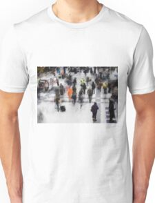 Commuter Art Abstract Unisex T-Shirt