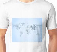 Wind energy map Unisex T-Shirt