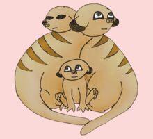 Group of Meerkats Baby Tee