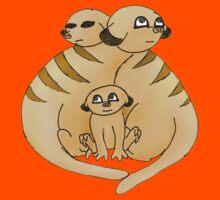Group of Meerkats Kids Tee