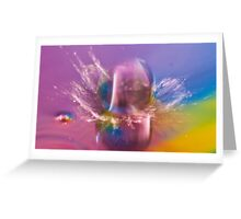 splash of colour By Ken Killeen Greeting Card