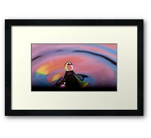 molecular magic By Ken Killeen Framed Print