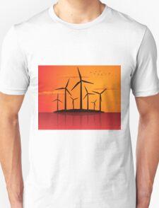 Wind power2 Unisex T-Shirt
