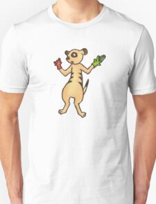 Meerkat with Hand Puppets T-Shirt