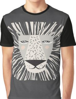 Friendly Lion Graphic T-Shirt