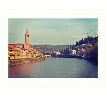 Verona View Art Print