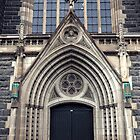 Gothic Doorway by Karen E Camilleri