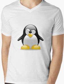 Tux penguin Mens V-Neck T-Shirt