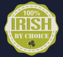Irish by choice Kids Tee