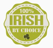 Irish by choice Kids Tee