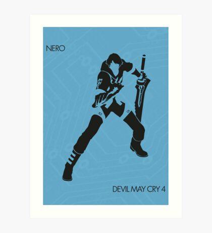 Nero Art Print