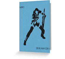 Nero Greeting Card