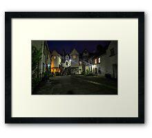 White Horse Close, Canongate. Edinburgh Framed Print