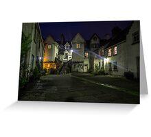 White Horse Close, Canongate. Edinburgh Greeting Card
