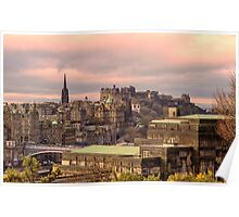 Sunrise from Calton Hill, Edinburgh Poster
