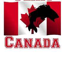 Fishing Canadian Flag Team Canada by kwg2200